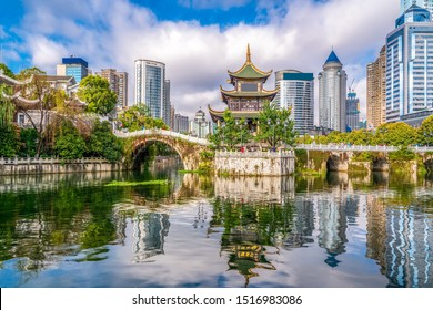 Ancient Architectural Landscapes and Rivers in Guiyang