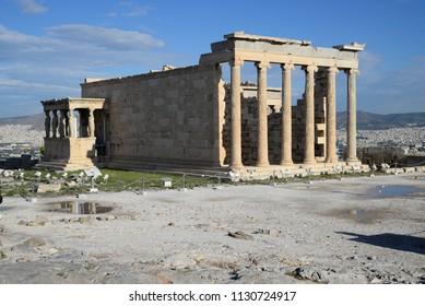 ancient architecture of Athens - Acropolis area