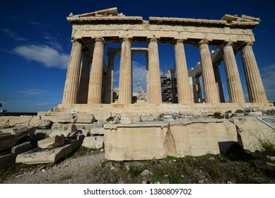 ancient architecture of Athens - Acropolis area