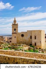 Ancient architecture of the Citadel, Victoria, Gozo Island