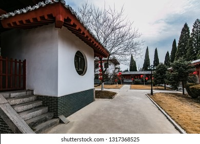 Ancient architecture of the historical exhibition hall of Licheng City, Fuyang City, Henan Province