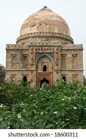 Ancient Architecture - Lodi Garden in Delhi city, India
