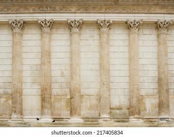 Ancient architecture - Maison Carr�©e, N�®mes