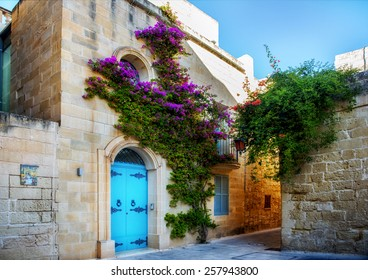 Ancient architecture of the Mdina - the ancient capital of Malta