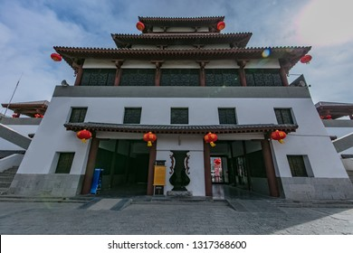 Ancient architecture of the ruins of Fucheng City, Fuyang City, Henan Province