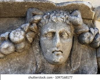 Ancient art of Afrodisias in Turkey