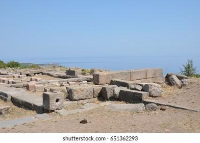 Ancient Assos in Turkey