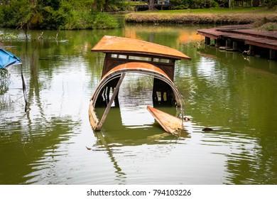 Ancient Ayutthaya Boat