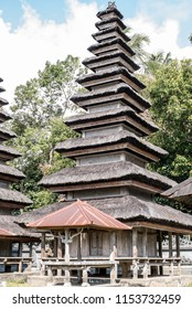 Ancient Balinese temple