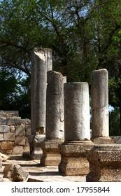 Ancient Baram synagogue in Israel