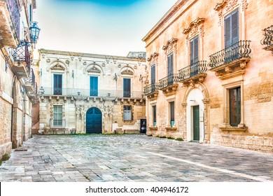 ancient baroque palaces of Lecce