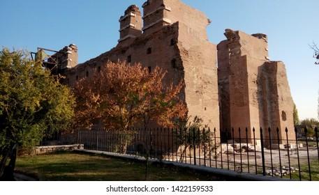 It is a so ancient basilica in Izmır Bergama.