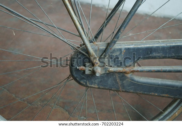 Ancient bicycle