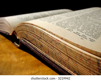 An ancient book that longs to be read.