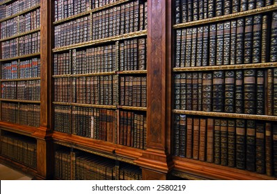 ancient bookshelves - great knowledge, wisdom, information picture