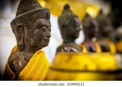 Ancient buddha statue in Thailand