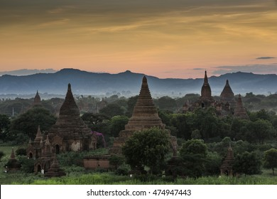 Ancient buddhist temples of Bagan