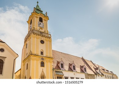 ancient building of Bratislava, capital city of Slovakia - Shutterstock ID 1516505279