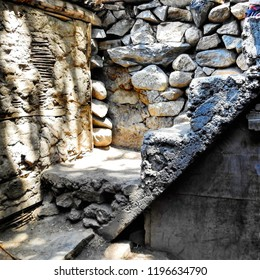 ancient building structures of Turtuk village