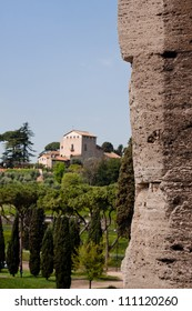 An ancient buildings in Rome