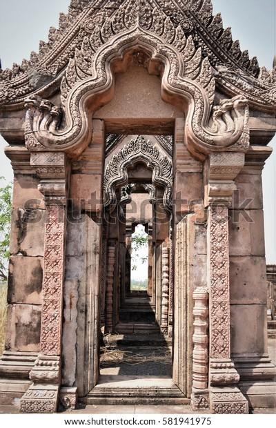 ancient castle Preah Vihear