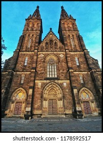 ancient cathedral in Prague