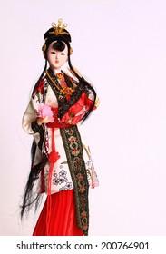 Фотообои Ancient Chinese beauty with traditional costume