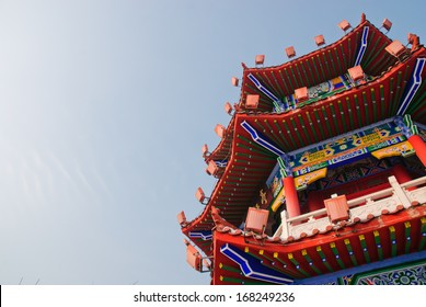an ancient Chinese building, Jilin