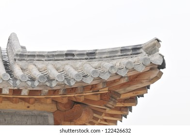 Ancient Chinese eaves construction