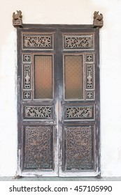 Ancient Chinese style woods doors