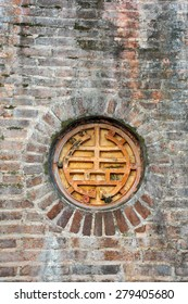Ancient chinese window