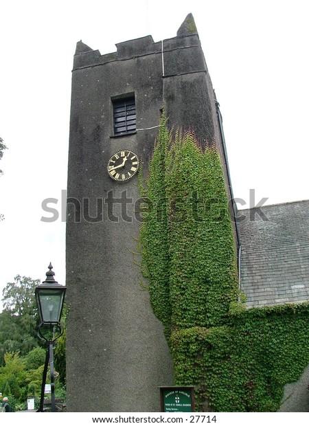 Ancient Church, Grasmere, Lake District, England