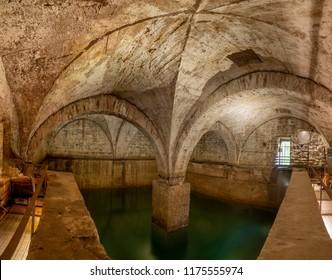 ancient cistern the bergamo wash house