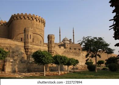 Ancient citadel of Cairo. Egypt.
