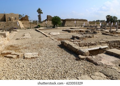 The ancient city of Caesarea