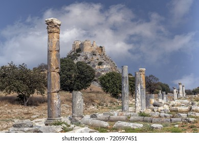 Ancient city of Castabala Hierapolis at Osmaniye