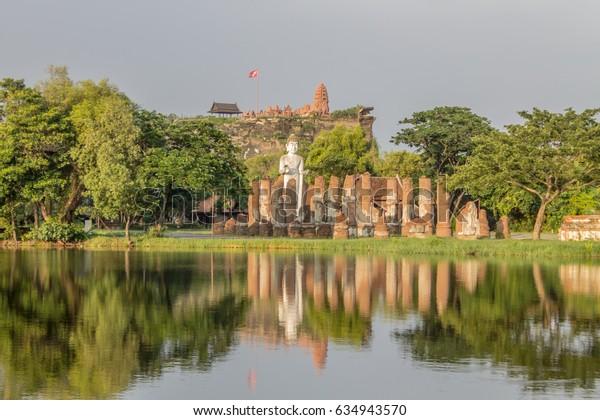 The ancient city Castle thailand