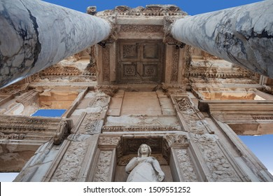 The ancient city of Ephesus Selcuk Izmir Turkey