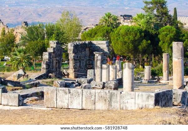 Ancient city of Hierapolis. Turkey