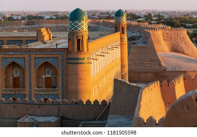 Ancient city of Khiva, Uzbekistan. UNESCO World Heritage