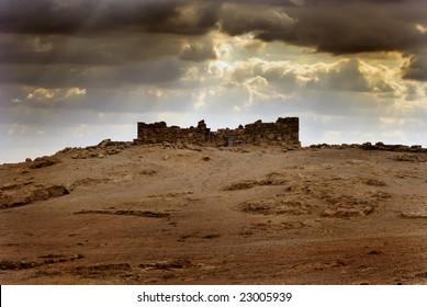 Ancient city Masada from Israel