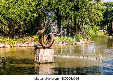Ancient city (Mueang Boran) Bangkok, Thailand