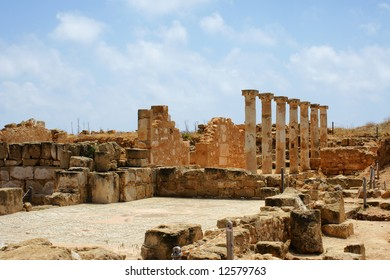 Ancient city near Paphos, Cyprus