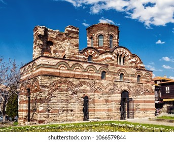 The Ancient City of Nesebar is a UNESCO World Heritage Site Bulgaria. Summer sunrise