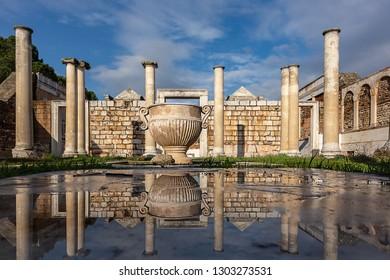 The ancient city of Sardis, bath, Manisa, Turkey