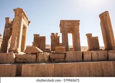 Ancient city - Tachara Palace, Persepolis,Shiraz-Iran.