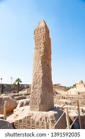 Ancient city of Thebes, Karnak in Luxor, Egypt