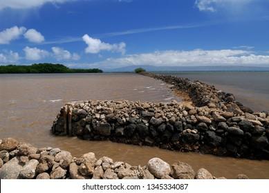 Ancient classic fish ponds on Molokai
