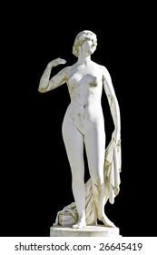 Ancient classic Greek statue