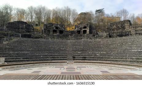 Ancient Coliseum in Lyon, France